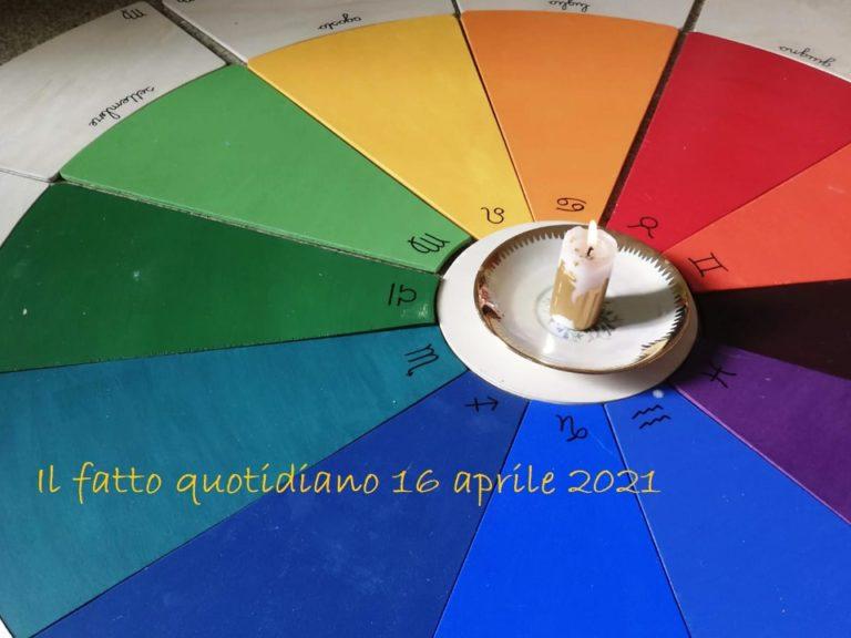Il fatto quotidiano 16 aprile 2021 Nella mia mente c'è … 7,5,9,3